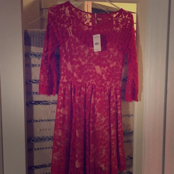 Free People Dresses & Skirts - Free people hot red dress